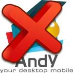 Как полностью удалить эмулятор Andy