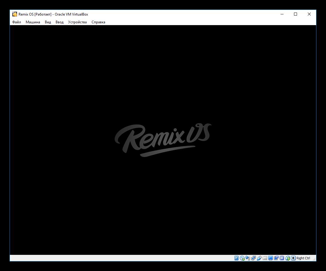 Вид окна Remix OS