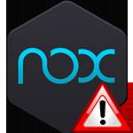 Что делать, если Nox зависает на 99%
