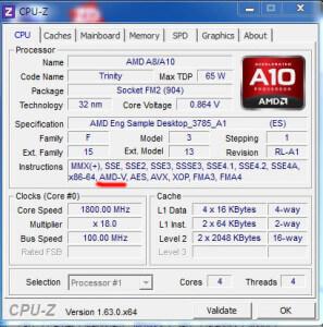 AMD CPU-Z