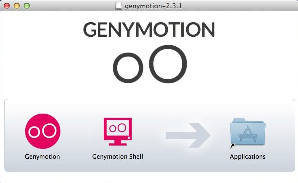 Установка Genymotion на Mac OS
