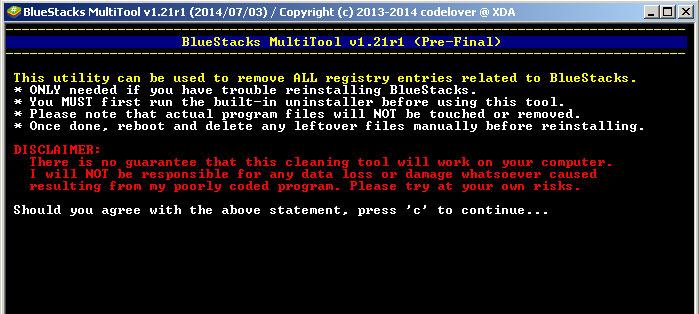 Как полностью удалить BlueStacks с компьютера