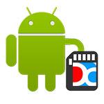 Увеличение объема SD карты в Droid4X